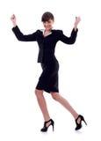 Joyous business woman Stock Image
