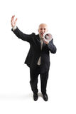 Joyous senior businessman Royalty Free Stock Photography