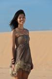 Joyous young woman Stock Image