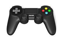 Joypad de Gamepad para la consola del videojuego aislada Fotos de archivo libres de regalías