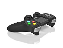 Joypad de Gamepad para o console do jogo de vídeo Foto de Stock Royalty Free