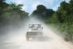 The Joyride in Belize Stock Images