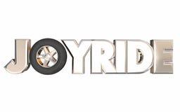 Joyride Fun Road Trip Transportation Tire Wheel Royalty Free Stock Photo