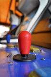 Joystick of an arcade video game Royalty Free Stock Photography
