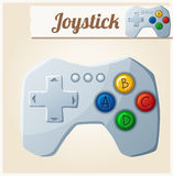 Joystick. Cartoon vector illustration Stock Image