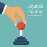 Joystick Control concept. Royalty Free Stock Photos