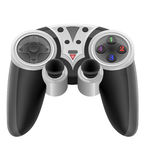 Joystick for gaming console vector illustration EPS 10 Stock Images