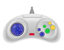 Joystick for gaming console vector illustration EPS 10 Stock Image