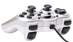 Joystick isolated on a white Royalty Free Stock Image