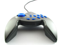 Joystick / Joypad / Gamepad. A videogame controller isolated on white background Royalty Free Stock Image