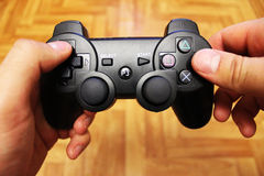 Joystick for video game consoles Royalty Free Stock Photo