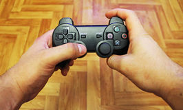Joystick for video game consoles Royalty Free Stock Photography
