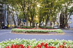 Jozenji-dori Park Royalty Free Stock Photos