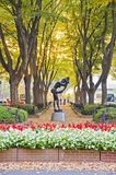 Jozenji park street in Sendai Royalty Free Stock Photography
