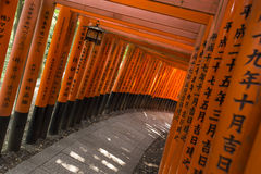 Kyoto Fushimi Inari Shrine 21 Stock Image