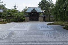 Kyoto Kodaiji temple zen garden Stock Image