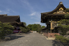 JP_Kyoto_Nishi-Hongan-ji_Tempel-19 fotos de archivo
