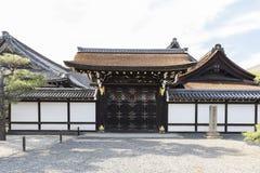 JP_Kyoto_Nishi-Hongan-ji_Tempel-18 免版税库存照片