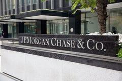 JP Morgan Chase & κοβάλτιο Στοκ Φωτογραφία