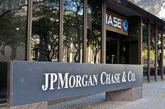 JP Morgan Chase Obrazy Stock