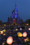 Tokyo Disneyland Cinderella castle and Easter eggs 29 Stock Photography