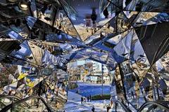 Free JP Tokyo Harajuku Mirrors Stock Photography - 177812942