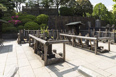 47 ronin tombs at Sengakuji temple in Tokyo Japan Stock Photography
