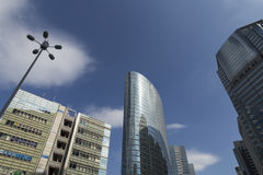 Tokyo Shinagawa skyline 6 Royalty Free Stock Images
