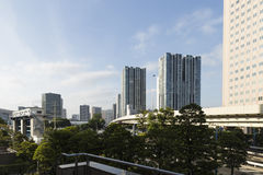 Tokyo Shinagawa skyline 14 Royalty Free Stock Images