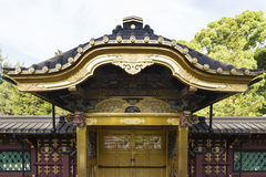 Karamon gate at the golden Toshogu shrine in Tokyo Japan Stock Photography