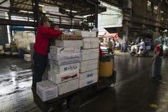 Tokyo Tsukiji fish market 43 Stock Photo