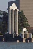 jpeg för eps för 8 ai-kolonner ionic över vektorwhite royaltyfria bilder