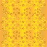 55 jpeg. Gold honeycomb geometric abstract background Stock Image