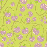 jpg φράουλες Στοκ Εικόνα