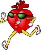 jpg сердца jogging Стоковые Изображения RF