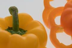 jpg arancione e giallo Fotografia Stock