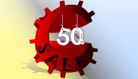 Jpg dell'illustrazione eps10 di vettore di concetto di vendita illustrazione vettoriale