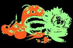 Jpg dell'illustrazione eps10 di vettore delle verdure Immagini Stock