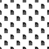 JPG file pattern, simple style Royalty Free Stock Photo