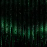 Jpg2015011917179578581 komputeru Binarny kod - Cyfrowego Abstrakcjonistyczny tło Zdjęcie Stock
