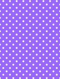Jpg. Purple Background with White Polka Dots royalty free stock photography