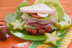 jpg sandwich1 Arkivfoto