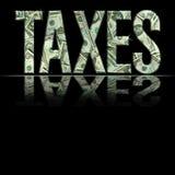 JPG taxes1 免版税库存照片