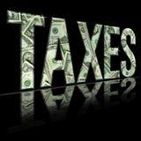 jpg taxes2 Стоковое Изображение