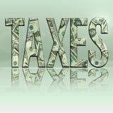 JPG taxes5 图库摄影