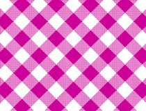 JPG and Vector Woven Pink Gingham royalty free stock photo