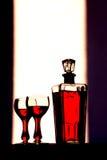 jpg wineglasses73 Стоковые Фотографии RF