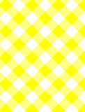 JPG Woven Yellow Gingham. Jpg.  Woven Yellow and white gingham fabric Royalty Free Stock Image
