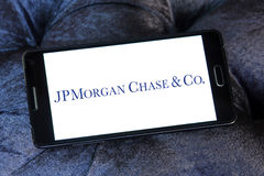 Jpmorgan chase bank logo Stock Image