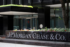JPMorgan Chase & Co. Headquarters Royalty Free Stock Photography
